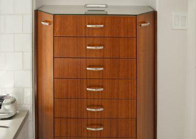 Mahogany Jewelry Cabinet