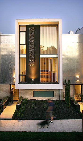Art installation on exterior of building